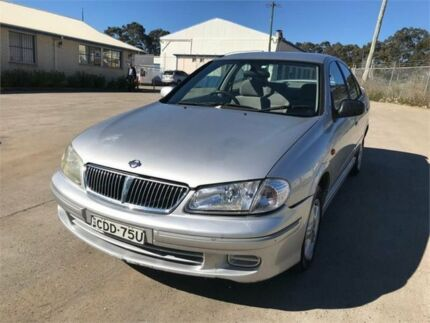 2002 Nissan Pulsar N16 Q Silver 4 Speed Automatic Sedan Chester Hill Bankstown Area Preview