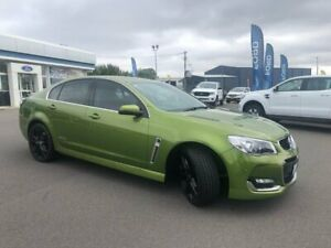 2016 Holden Commodore VF II MY16 SS V Redline Green 6 Speed Sports Automatic Sedan Goulburn Goulburn City Preview