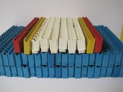 Lot Of 58 18 Place Vialtube Sample Racks Blue Used W Tricarb Packard 1600tr