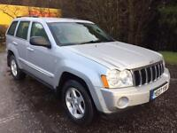 2007 07 JEEP GRAND CHEROKEE 3.0 V6 CRD LIMITED 5D 215 BHP DIESEL