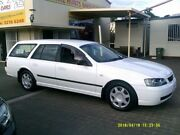 2003 Ford Falcon BA XT White 4 Speed Auto Seq Sportshift Wagon Coopers Plains Brisbane South West Preview