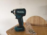 new makita 18v brushless impact driver dtd153z. dtd153 bare tool