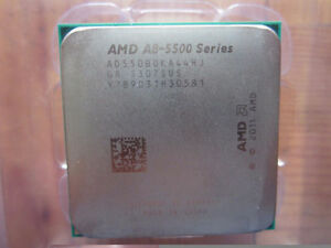 AMD Processor 4 Cores (QUAD) A8-5500 3.70GHzTurbo Fan included