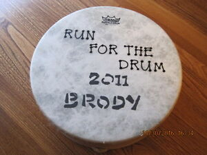REMO Buffalo Drum RUN FOR THE DRUM 2011 Brody