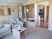 Static caravan of the highest standard, full size bathtub and walkin wardrobe at St Margarets Bay