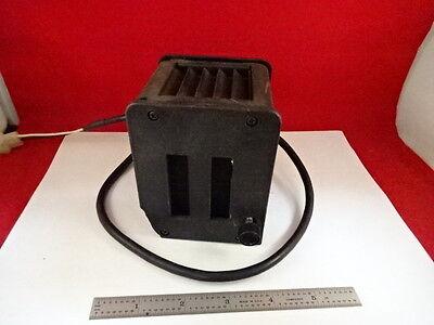 Microscope Part Nikon Japan Lamp Housing Illuminator Optics As Is 79-03