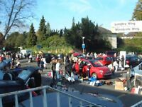 Charity Car Boot Sale in aid of Epsom Medical Equipment Fund supported by AutoTest