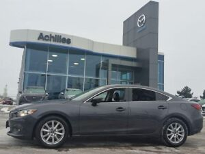 2014 Mazda MAZDA6 GS, Auto, Moonroof, Leather
