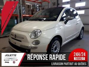 2015 FIAT 500c Lounge, CUIR,  BLUETOOTH,