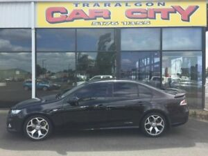 2010 Ford Falcon XR6 TURBO FG AU Black Automatic Sedan