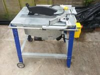Electra Beckum table saw 315mm 110v
