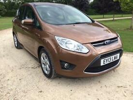 2013 Ford C-MAX 1.6TDCi Zetec immaculate condition throughout