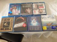 BRAND NEW BLU RAY DVDS FOR SALE