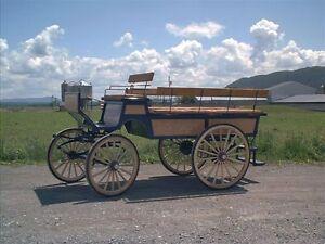 voitures * cart *  wagon *  fait au QUEBEC !