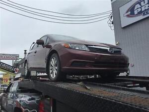 2012 Honda Berline Civic EX-FULL-5 VITESSES -MAGS-TOIT OUVRANT