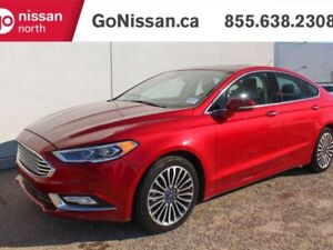 2017 Ford Fusion SE AWD NAVIGATION LEATHER SUNROOF