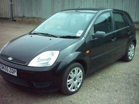 here soon fiesta 1.2 , 5 door , in black , great driver ideal 1st car 1 yrs mot £1495