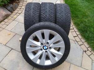 Mags BMW 17 po. series 3 + 225 45 17 NOKIAN Hakkapeliitta R2