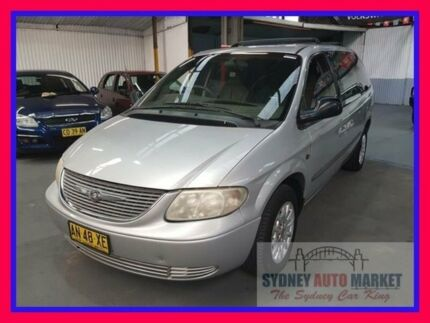 2002 Chrysler Grand Voyager RG 4th Gen Limited Silver 4 Speed Automatic Wagon Condell Park Bankstown Area Preview