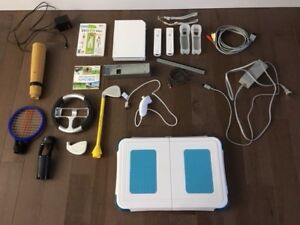 Nintendo Wii with Balance Board, Wii Fitness and Wii Sports
