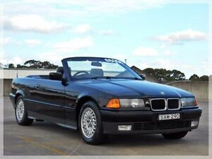 1995 BMW 328I E36 Black 4 Speed Automatic Convertible Brookvale Manly Area Preview