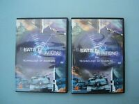 2 x DVD Box sets (2 in each) Battle Stations Airplanes Spitfire F-86 Sabre Lancaster B-17 Fortress