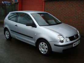 VOLKSWAGEN POLO / 1200cc / 2003 / 88000 MILES / FULL MOT / VERY CLEAN CAR