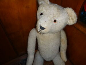 Antique English Teddy Bear c. 1920 West Island Greater Montréal image 4