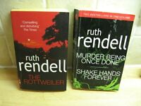 Two Ruth Rendell paperbacks