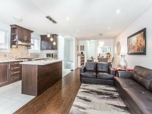 3 bedrooms house(upper)for rent brampton queens and Rutherford