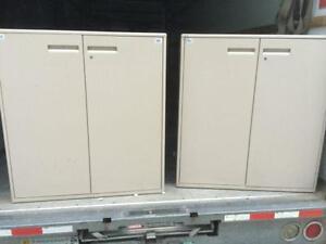 Storage Cabinets / Supply Cabinets, 2 door all metal