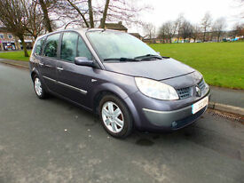2005 05'reg Renault Grand Scenic 1.6 VVT 115 Dynamique**7 Seater**