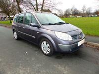 2005 05'reg Renault Grand Scenic 1.6 VVT 115 Dynamique**7 Seater**
