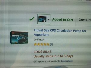 """ BRAND NEW "" FLUVAL SEA CP3 CIRCULATION PUMP FOR AQUARIUMS"