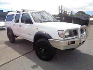 1999 Nissan Navara D22 DX (4x4) White 5 Speed Manual 4x4 Dual Cab Pickup Pooraka Salisbury Area Preview