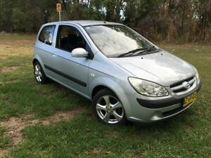 2008 Hyundai Getz TB MY09 SX Silver 5 Speed Manual Hatchback Coonamble Coonamble Area Preview