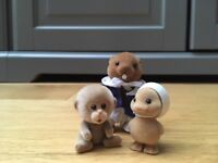 Sylvanians - Sailor Beaver, Baby Monkey and Baby Sailor Duck