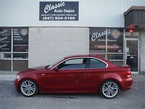 2008 BMW 128i **LEATHER ** AUTOMATIC ** PADDLE SHIFTERS **