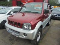 Suzuki Jimny 02 S/T (red) 2002
