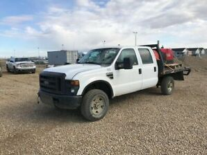 2007 F350 crew deck with welder and fuel tank Low KM