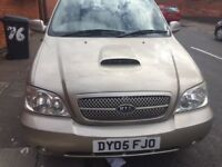 2005 KIA SEDONA 2.9 DIESEL MANUAL , 7 SEATER 7 SEAT CAR