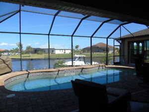 Waterfront Gulf Access Pool Home Port Charlotte