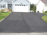 Driveway / Parking lot sealing