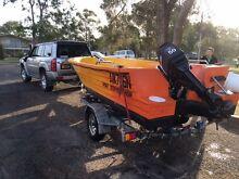 POLYCRAFT 450 DRIFTER 2014 50hp Tanilba Bay Port Stephens Area Preview