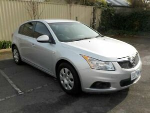 2012 Holden Cruze JH MY13 CD Silver 6 Speed Automatic Hatchback Newtown Geelong City Preview