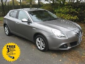 10-60 ALFA GIULIETTA 1.4 TB LUSSO 57K FULL SERVICE HISTORY 2 PREVIOUS OWNERS HPI CLEAR