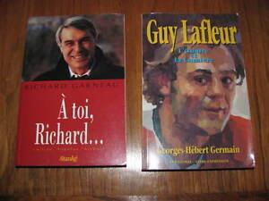 Richard Garneau et Guy Lafleur