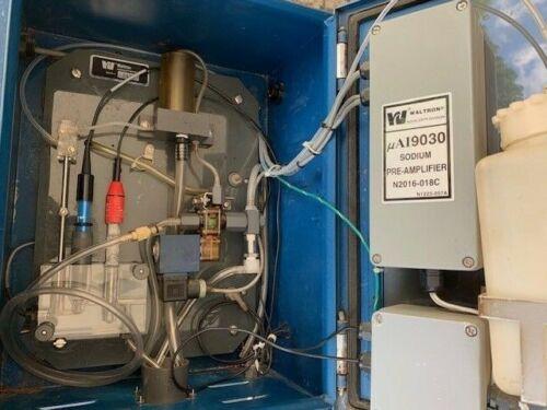 Waltron μAI 9030 Sodium Ion Analyzer sample collection unit Aqualert μAI9030