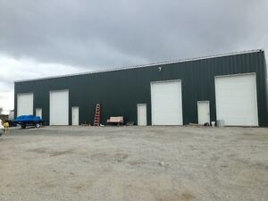 Commercial Steel Building 50 X100 feet with 4 Bays and Office's