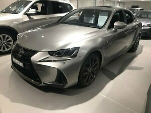 2018 Lexus IS Silver Constant Variable Sedan Sylvania Sutherland Area Preview
